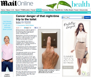 Daily Mail - cancer danger