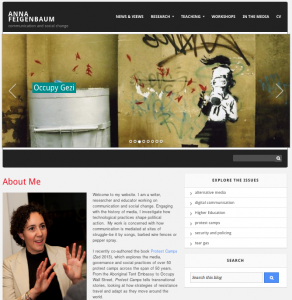 Anna F website
