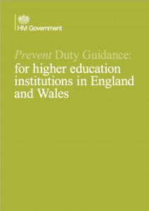 Prevent Duty Guidance: for higher education institutions in England and Wales